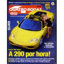 4rodas N.481 Ago 2000 - Ferrari 360 Spider