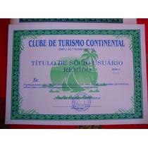 Titulo Clube De Turismo - Viaje Grátis Por Todo Brasil!!!!