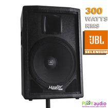Caixa Acústica Passiva Master Jbl Selenium 300 Wrms