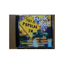 Cd Funk Rap 107,9 Popular Fm - 1997 - Frete Gratis