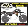 Adesivo P/ Yamaha Xt 660r 2008/2009 E 2010 Mod Enduro