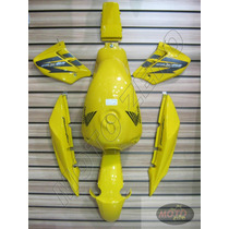 Kit De Pintura Cbx250 Twister Carenagen/tanque/paralama