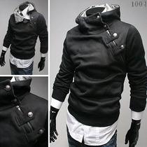 Casaco Masculino C/ Botões Na Gola,jaqueta,blazer,sobretudo