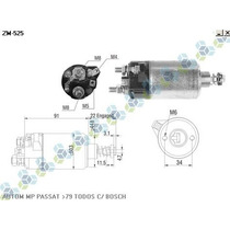Automatico Motor Partida Passat /79 Todos C/ Bosch
