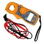Alicate Amperimetro Digital Lcd Dt87 1000v Aviso Sonoro
