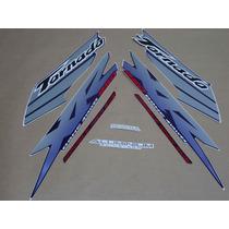 Kit Adesivos Honda Xr 250 Tornado 2003 Azul - Decalx
