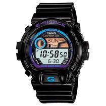 Relógio Casio G Shock Glx 6900 Preto G Lide 200 M Fases Lua