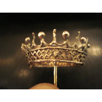 Coroa Em Prata De Lei Antiga