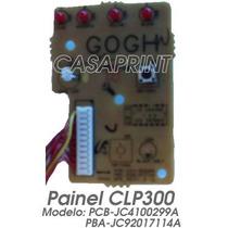 Painel Para Impressora Samsung Clp300 Clx2160 Pcb-jc4100299a