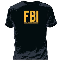 Camiseta Fbi Task Force Tam. M