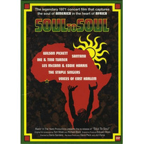 Dvd -soul To Soul Of America In The Heart Of Acrica (dvd+cd)