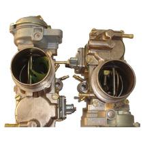 Carburador Kombi Brasilia Fusca Duplo Solex H32/34 Pdsi 2 À