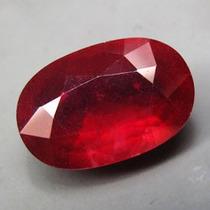 Rubi Transparente 9,61 Cts -sangue Pombo Natural