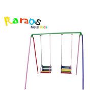 Balanço Infantil Cadeirinha 02 Lugares Corrente - Brinquedo