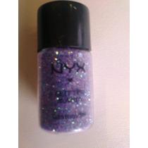 Sombra/pigmento Glitter Mania Nyx Importado Purple