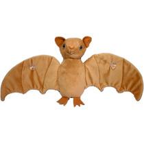 Morcego Marrom Bicho Pelucia Brinquedo Decoração Presente