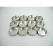 Forminha Pão De Mel Nº 4 Kit Com 24 Unidades Em Aluminio