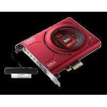 Placa De Som Creative Sound Blaster Z Pcie C/ Microfone