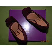 Sapato Meia Pata Salto Alto N 34 Cor Uva Vizzano Salto 11cm