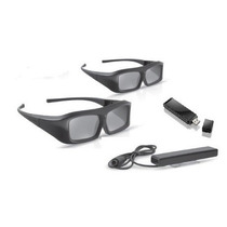 Kit 2 Óculos 3d Ativo Philips Pta02 Transmissor+atualização
