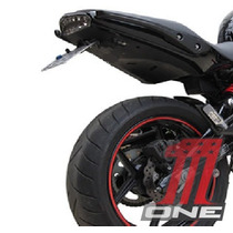Eliminador De Rabeta Articulado Para Moto Er6n Kawasaki 2010