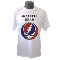 Camiseta Divertidas Grateful Dead Bandas Rock Galeria Musica