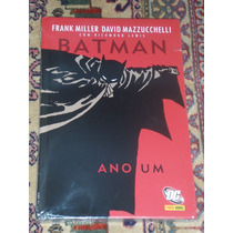 Batman Ano Um - Capa Dura - Panini - Lacrada