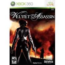 Jogo Ntsc Velvet Assassin Para Xbox 360