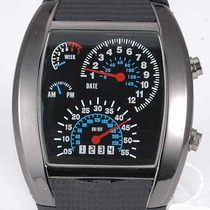 Relógio Pulso Tvg Led Matrix Azul Iluminado - R$ 37,90