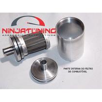 Filtro De Combustível Esportivo Alumínio Esportivo Lavável