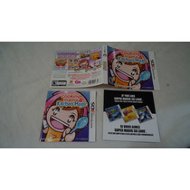 Encartes C/ Manual Original Do Jogo Cooking Mama 3d Land 3ds