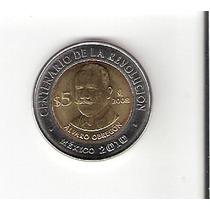 Linda Moeda Do México De 5 Pesos De 2010 - Vejam A Foto !