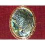 Magnífico Pingente Vintage C/ Banho 18k/abalone,méxico,déc60