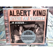 Albert King Stevie Ray Vaughan In Session Cd + Dvd Importado