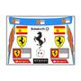Cartela Adesivos Ferrari - Alonso + Frete Grátis