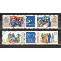 Ms4928 - Alemanha D.d.r. Selos De Série, Diversos, Mc