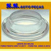 Lente Vidro Milha Ford Fiesta - Ka 07 08 09 2010 11