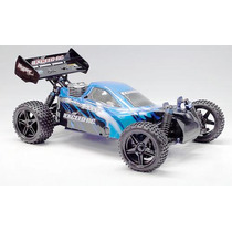 Automodelo Off-road Buggy 1:10 4x4 Combustão Exceed Rc Nitro