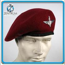 Boina Uk Paraquedista Airborne 2ª Guerra Prot Entrega Tam 60