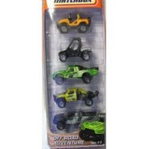 Pack 5 Minis Off Road Adventure Da Matchbox Da Linha 2011