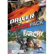 Jogo Action Pack Driver Parallel Lines E Farcry Para Pc