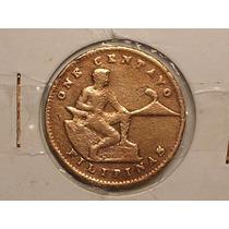 Usa Nas Filipinas) 1 Centavos - 1944 2ª Guera