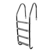 Escada Para Piscina De Quatro Degraus Inox Inoxpool