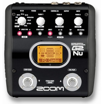 G2nu Pedaleira Guitarra Multi Efeito Zoom G2 Nu C/ Usb