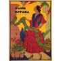 Visite A Espanha Mulher Vestido Tango Poster Repro