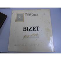 Vinil / Lp Bizet - Grandes Compositores Da Música Universal