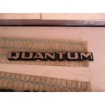 Emblema Quantum Original Vw Friso Logo Roda Capo Tampa Mala