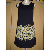 Vestido Malwee (c/estampas Florais) Tam; P R$ 25,00