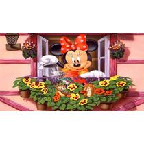 Big Painel De Festa Minnie Mouse Disney - 2x1