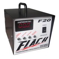 Carregador Inteligente Automatico Bateria Flutuante 12 Volts